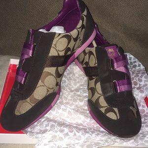 COACH Signature Shoes size 9 M